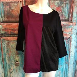 Lane Bryant 14/16 color block shirt